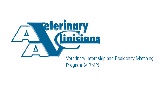 Veterinary Internship and Residency Matching Program (VIRMP) Logo