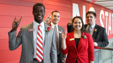 NC State Student Government representatives