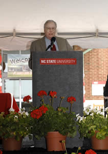 Dean Emeritus Oscar Fletcher discussed how Randall Terry would view the day.