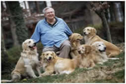 Randall B. Terry, Jr, and dogs