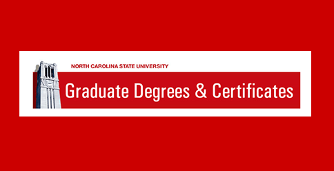 NC State CVM graduate school application
