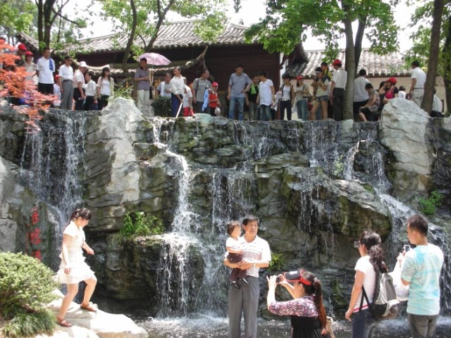 Temple Waterfall Hangzhou, China