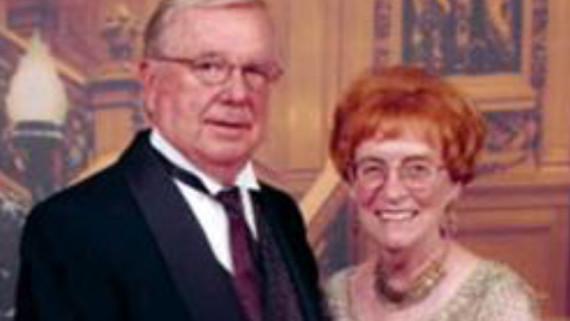 Portrait of NC State CVM donors Lew and Billie Rentel