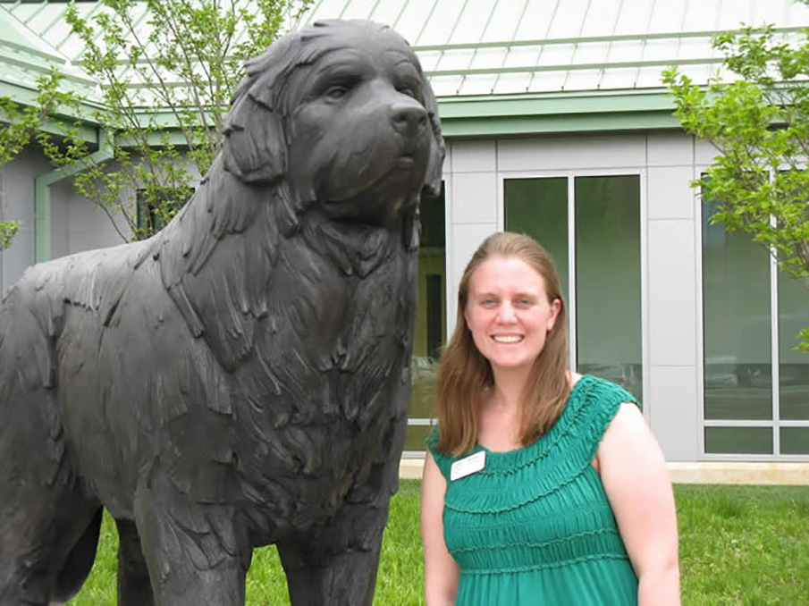 Michelle Plantier, Client Services Specialist for the Neurology Service at the Veterinary Hospital