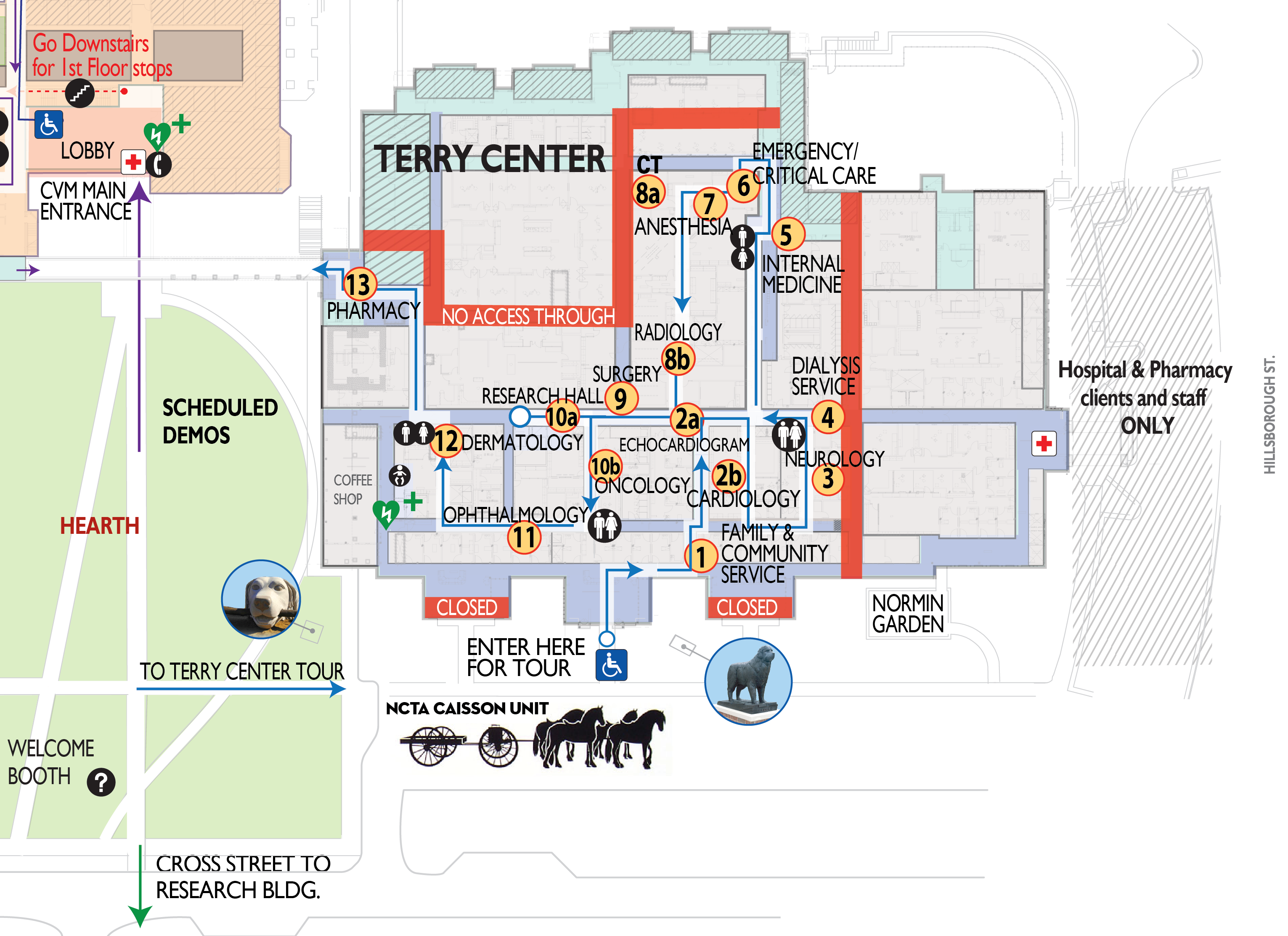 map of terry center
